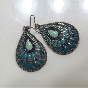 Colorful earrings from world market!